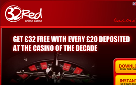 32Red Casino has shown good revenue growth