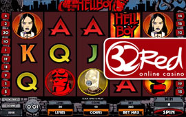 32 Red Casino is about to release the Hellboy slots game