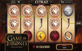 Four Free Spins Features in Game of Thrones