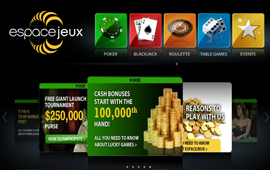 Launch promotions on offer at espacejeux.com