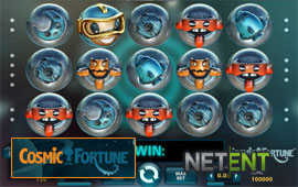 Cosmic Fortune Progressive has High Payout Percentage
