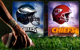Eagles at Chiefs betting has started