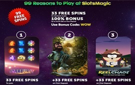 Slots Magic Casino Reel Spins Fest