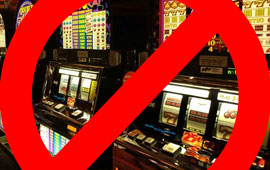 A call has been made to remove VLT's from public places