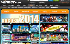 Cashback and More at Winner.com Casino